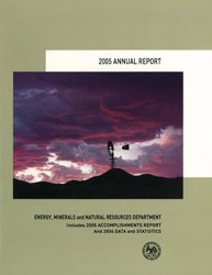 2005 Annual Report Cover