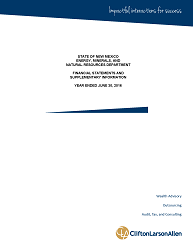 2016 Financial Statement Cover