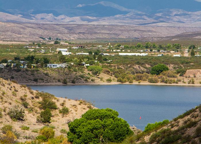 Caballo Lake & Mountains