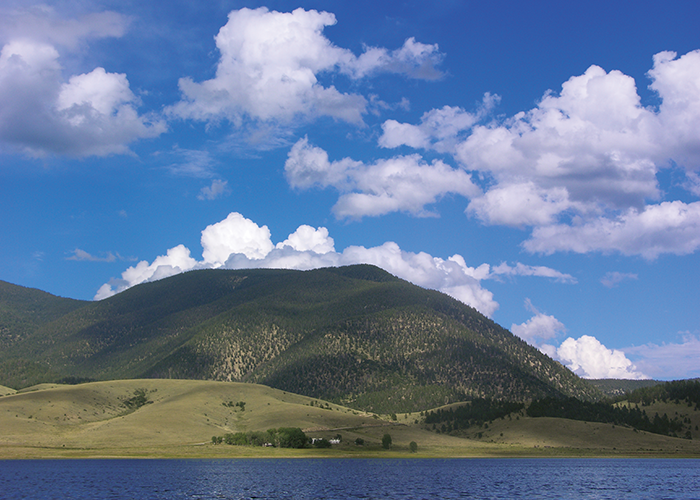 Eagle Nest hills and sky