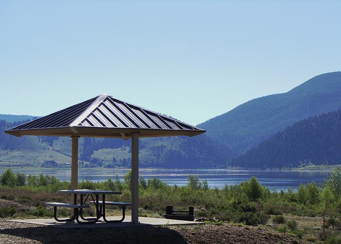 Park picnic area