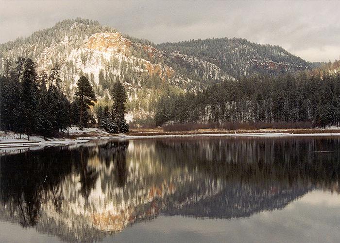 Winter in Fenton Lake