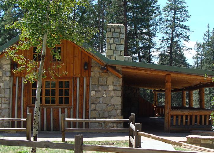 Side of lodge