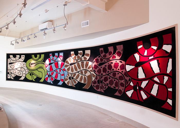 Snake wall art