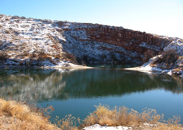 Bottomless Lake