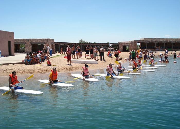 Bottomless Lakes Boarding