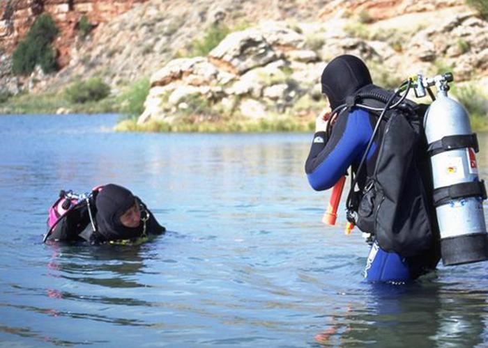 Bottomless Lakes Scuba Diving