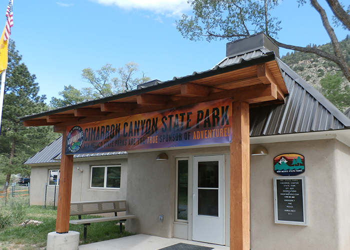 State park visitor center