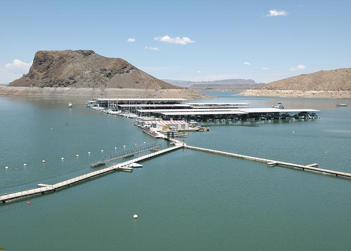 Elephant Butte dock