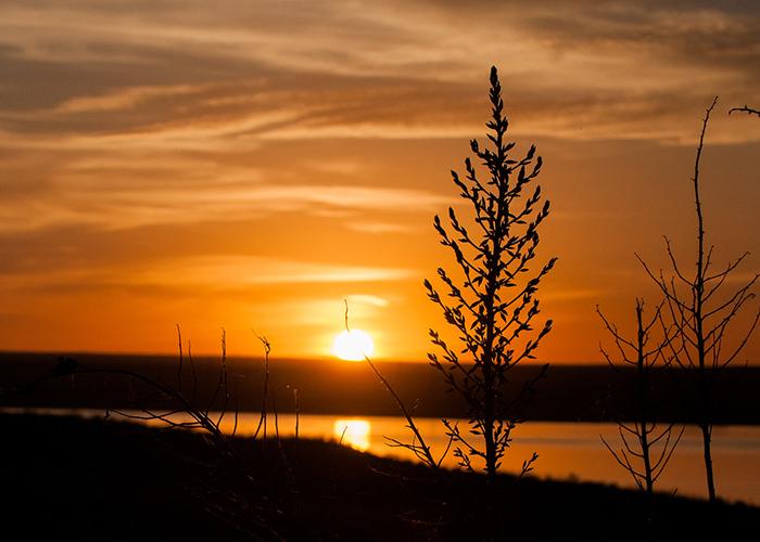 Brantley Lake Sunset