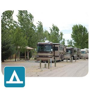 RVs camping