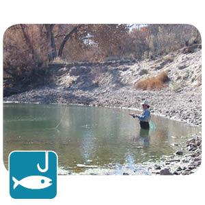 Fishing at Percha