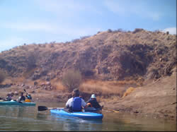 Traveling on the Rio Grande through Truth or Consequences