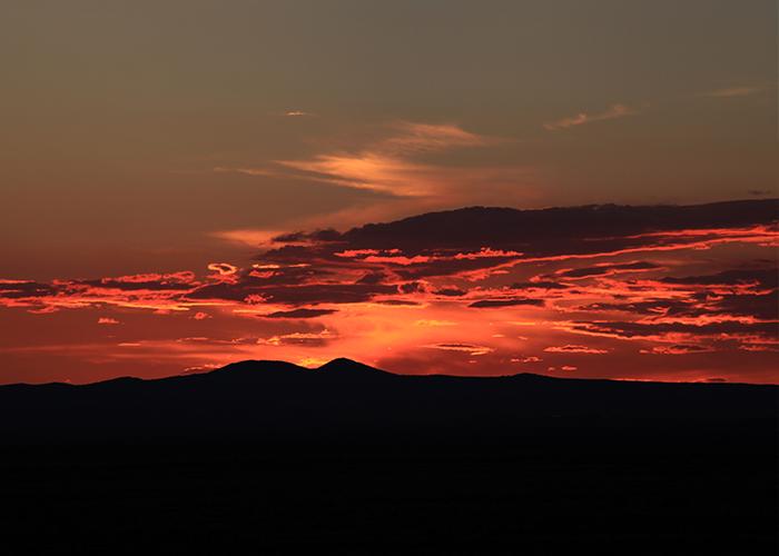 City of Rocks sunset