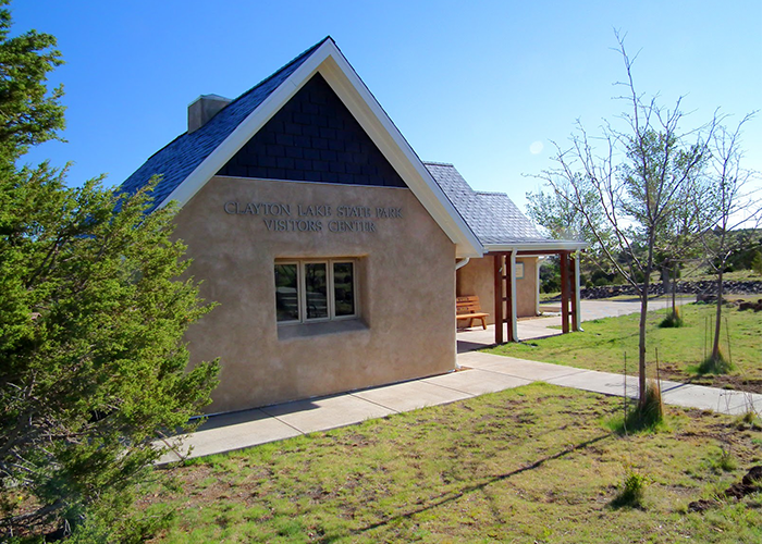 Clayton visitor center front