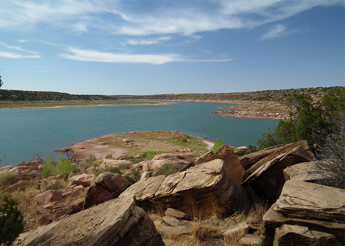 Rocks at Conchas Lake