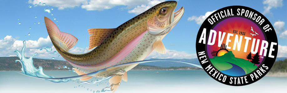 Illustration of a fish coming out of the water