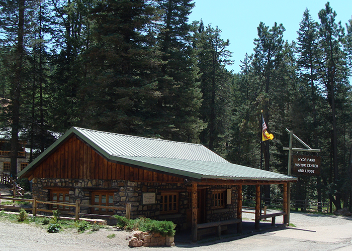 Visitor Center and Lodge