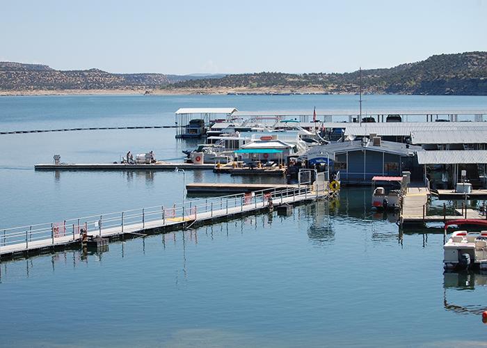Dock at Navajo Lake
