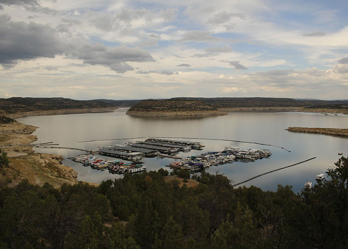 Full view of Navajo Lake