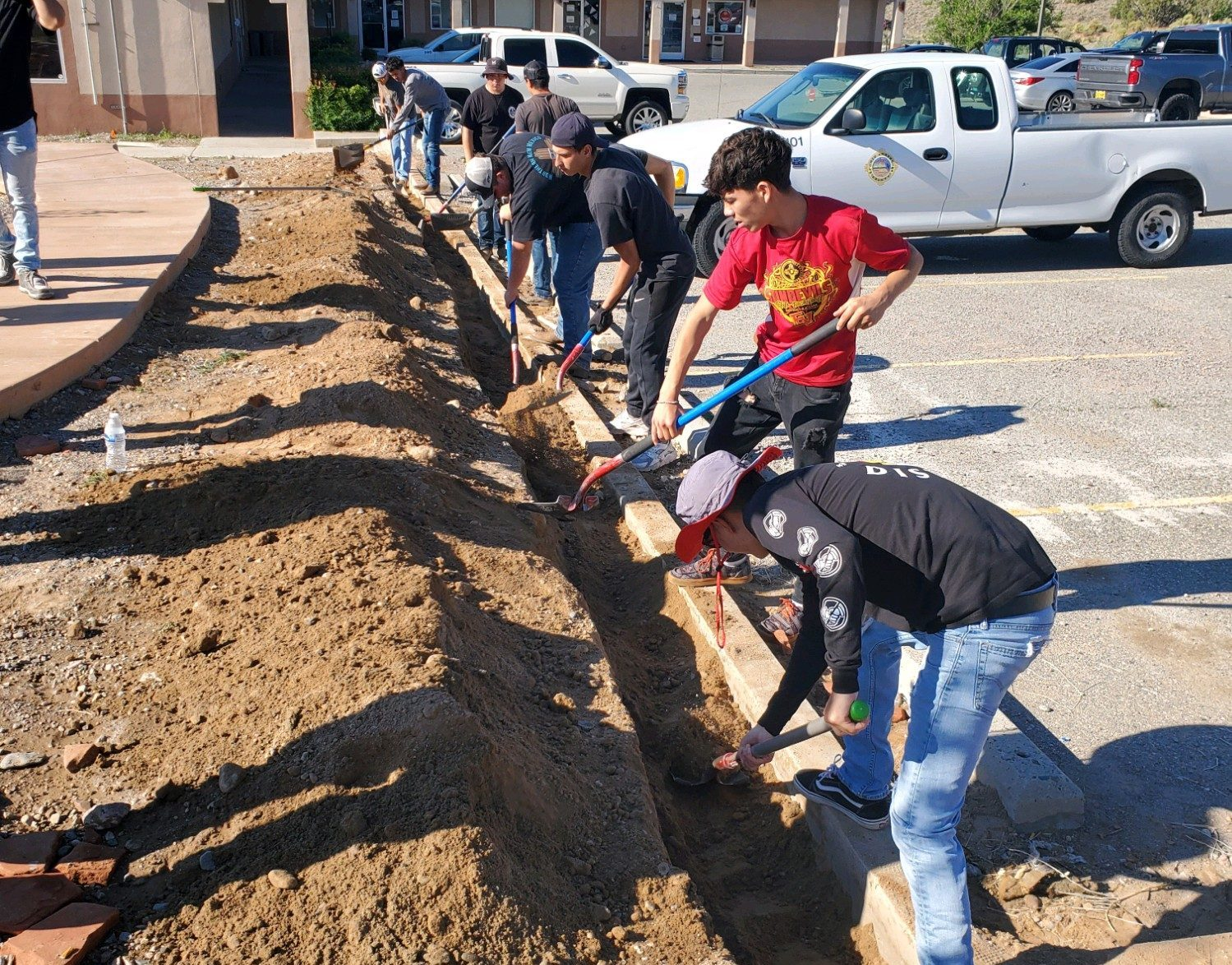 Improving senior center in Hernandez